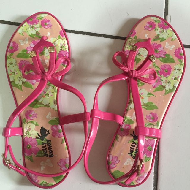 Jelly Bunny Sandals
