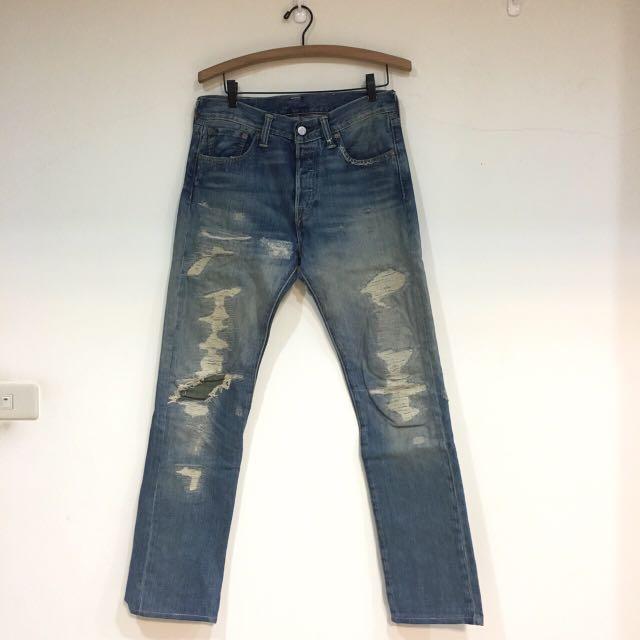 Levi's 501破壞褲