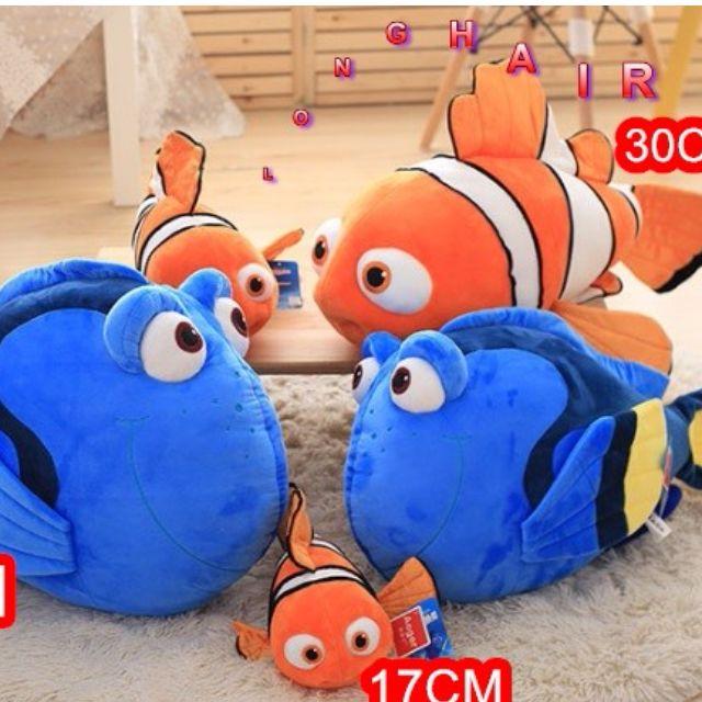 (LONG HAIR)17CM 海底總動員2多莉尼莫魚公仔娃娃玩偶禮物