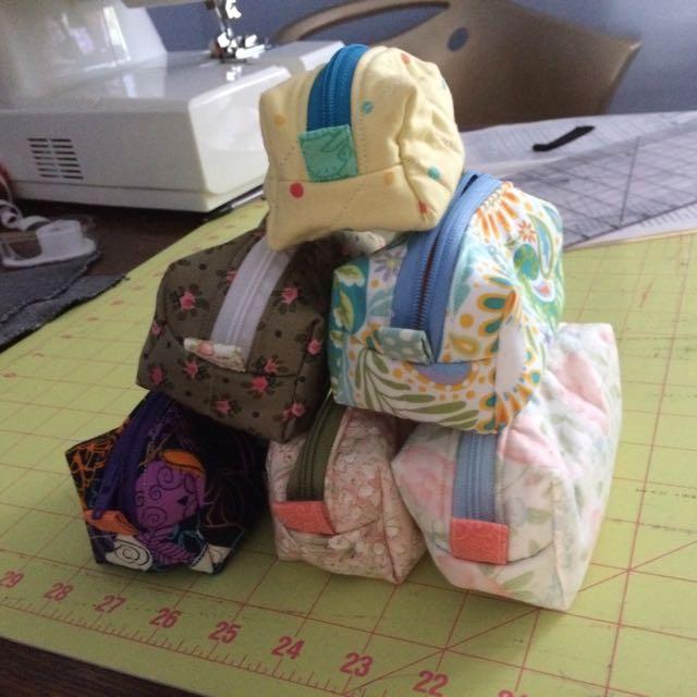 Mini Fabric Pouches