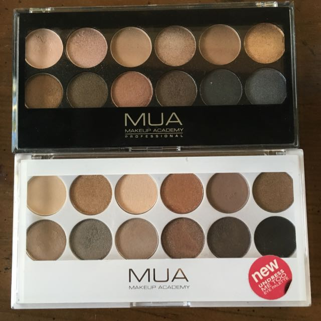MUA Undressed & Undress Me Too (UD N1&2 dupes)