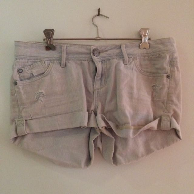 Size 10 'fn' Denim Shorts