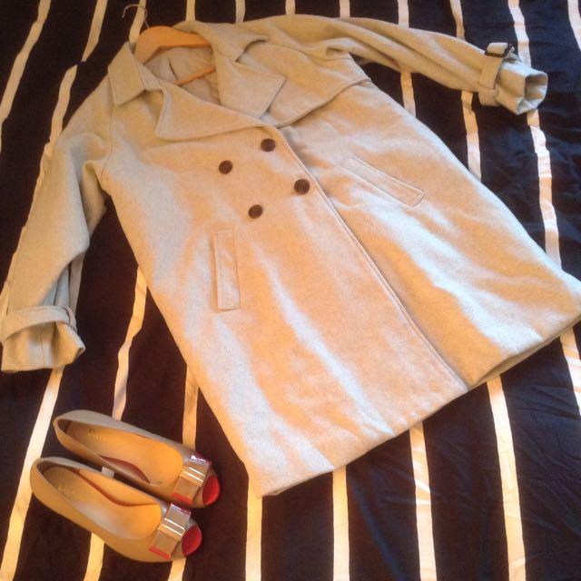 🌟(size M) Grey Coat