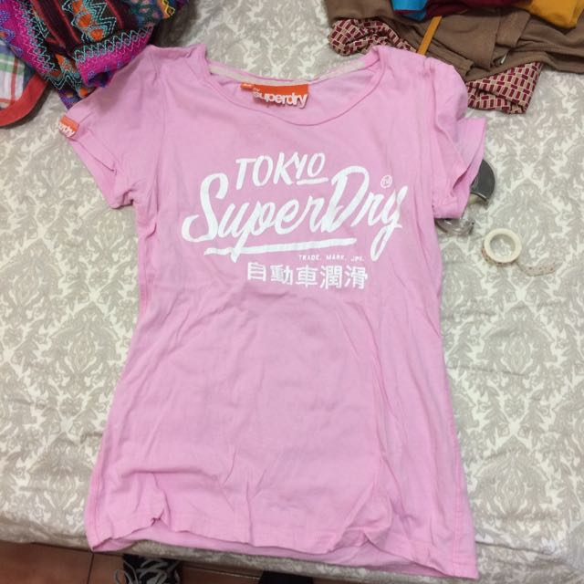Superdry pink Shirt