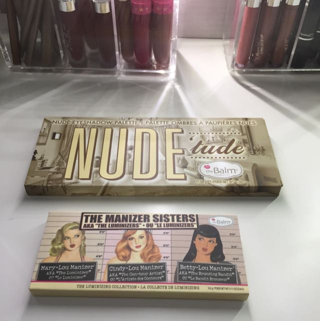 The Balm Bundle - The Manizer Sisters & Nude Tude