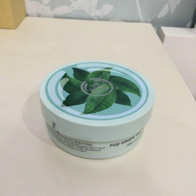 The Body Shop美體小舖「富士山綠茶淨化身體滋養霜」