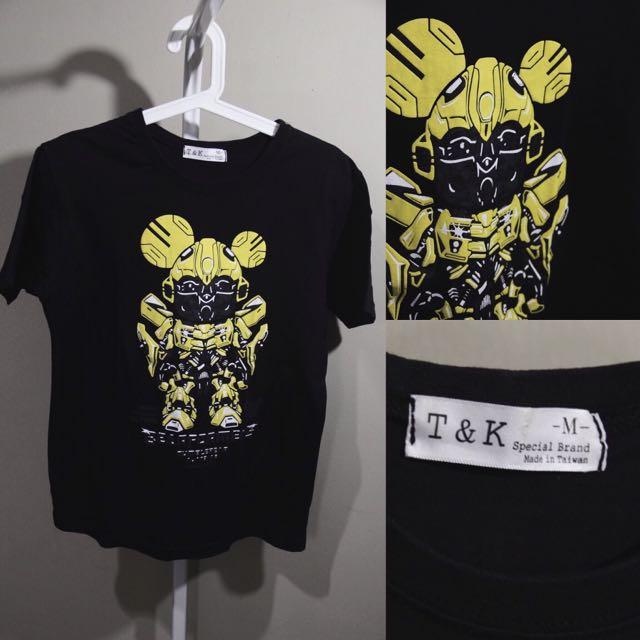 Mickey Transformer Printed Tee