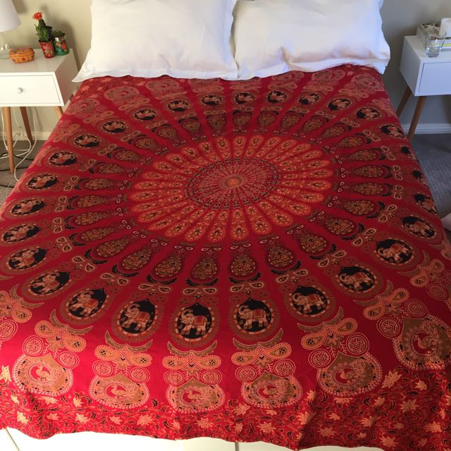 Tree Of Life Double Bed Throw **price drop**