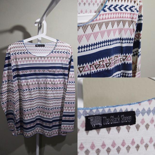 Tribal 3/4 Sleeve Shirt