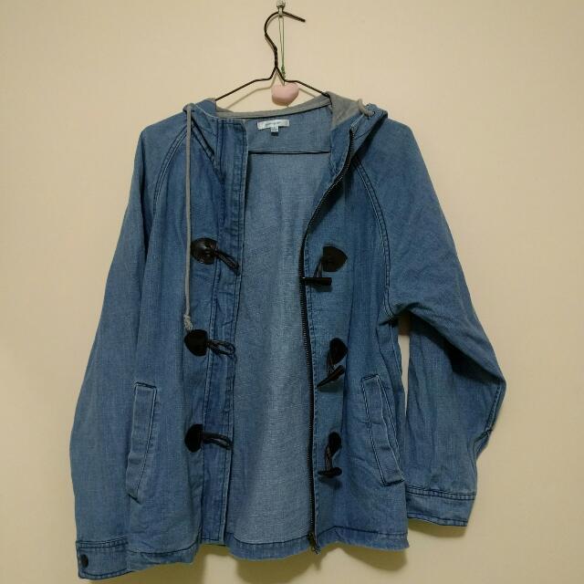Valley Girl Denim Hooded Jacket - 8