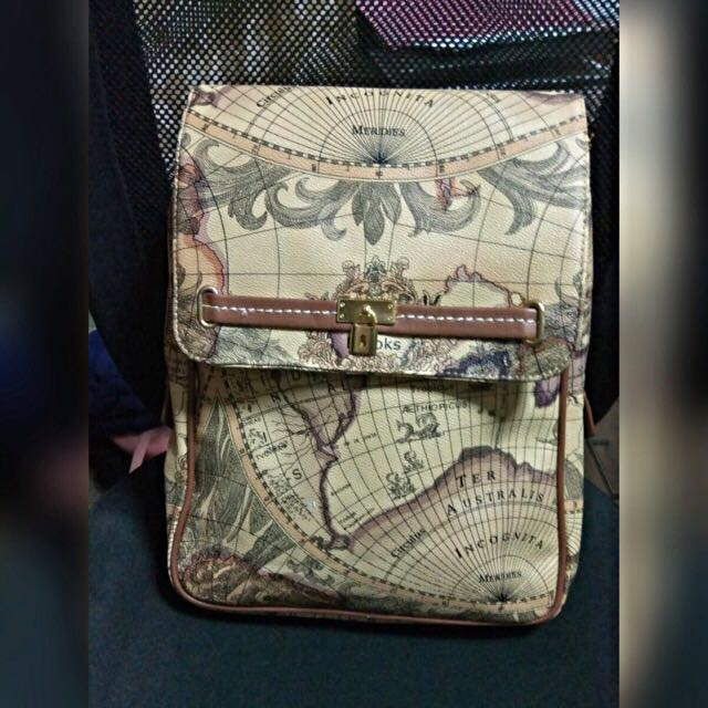 World map design backpack womens fashion on carousell photo photo photo photo gumiabroncs Image collections