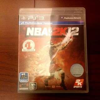 【松桂坊】PS3 NBA 2012遊戲片