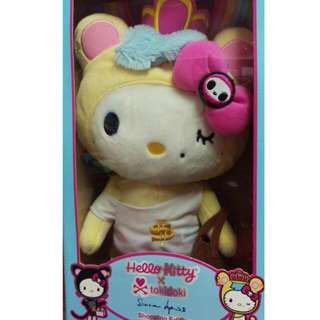 Hello Kitty x tokidoki 聯名玩偶 前衛kitty