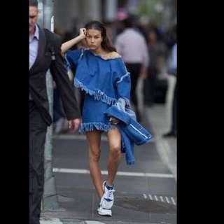 POC denim Skirt