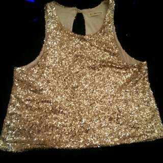 Mika And Gala Sequined Top
