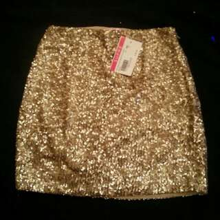 Supre Sequined Skirt