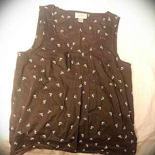 Puffy vest.