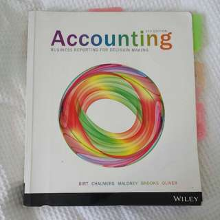 Accounting Business Reporting for Decision Making 5th Edition