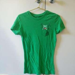 Pokemon Bulbasaur Women's T Shirt (Medium)