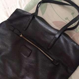 Ceviro Black Tote Bag