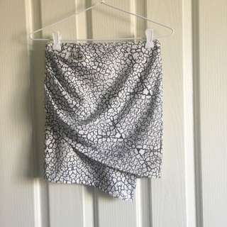 Morning Mist Patterned Skirt