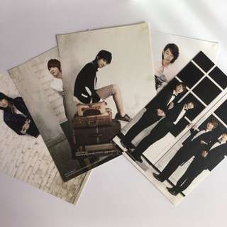CNBLUE Official 2011 Season Greetings Postcards
