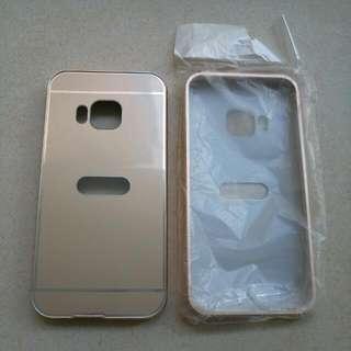 Gold HTC One M9 Case x2