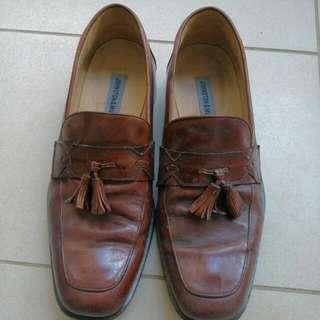 Vintage Johnson&Murphy Brown Leather Lofers