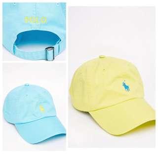 [國外代購] Polo 老帽 棒球帽 藍 黃