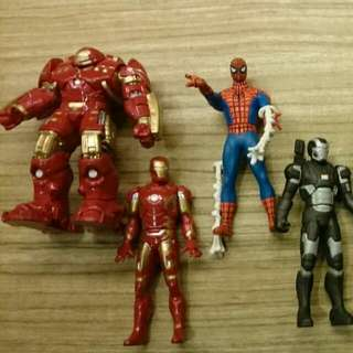 Tomica Diecast Avengers Age Of Ultron Figures