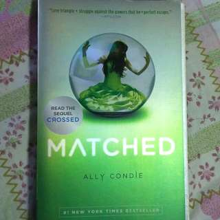Matched By Ally Condie - RESERVED