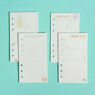 Planner Inserts H - Summer Break