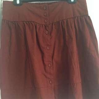 Terracotta Skirt