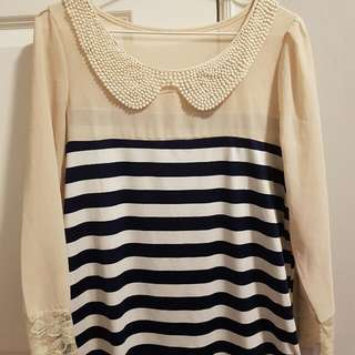 SheIn Nautical Top