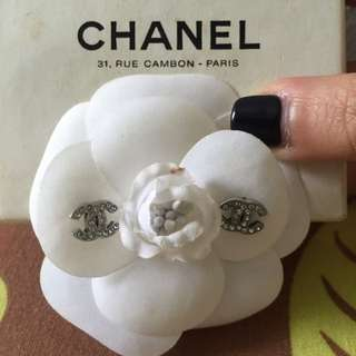 "Authentic Chanel ""Boucles Oreilles"" Stud Earrings"