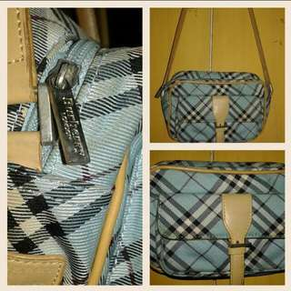 BURBERRY Blue Label Authentic Sling Bag Preloved In Very Good Condition Small