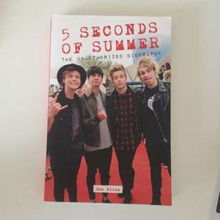 5 Seconds Of Summer Unauthorised Biography