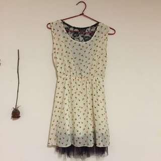 Short White Dress Size 8
