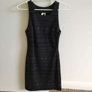 Brand New Dark Grey Sleeveless Dress