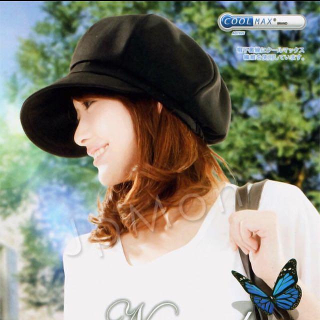 日本艷陽對策15cm 寬緣遮陽小臉帽