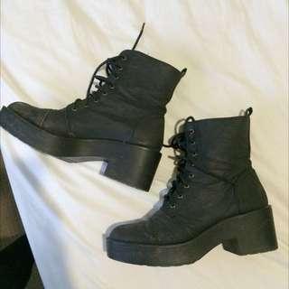 PENDING Black Boots