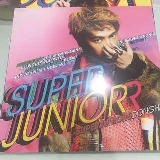 全新 Super Junior 5輯 Mr.Simple(東海 圭賢 希澈封面)
