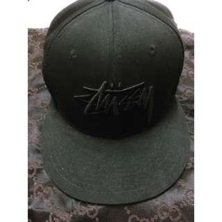 stussy 正版 黑 棒球帽