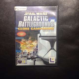Star Wars Galactic Battlegrounds Clone Campaigns Expansion Pack