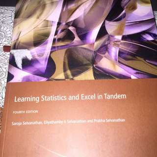 Learning Statistics And Excel In Tandem Fourth Edition