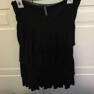 Black Layered Forever New Dress