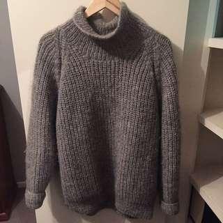Oversize Grey Knit