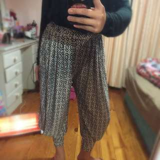 Aladdin pattern Pants