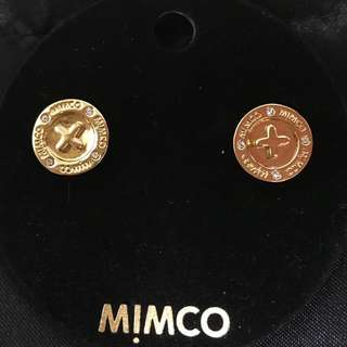 BNWT Gold Mimco Earings
