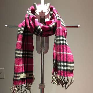 AUTHENTIC Burberry Wool Scarf